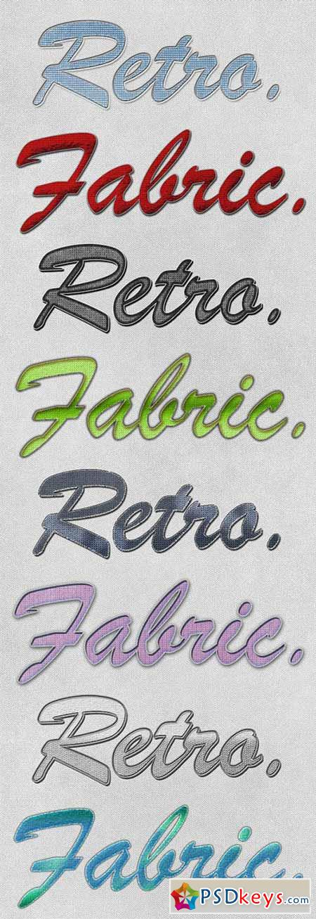 Retro Fabric Styles 182457