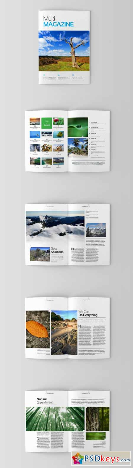 Magazine Editorial Template 04 14728