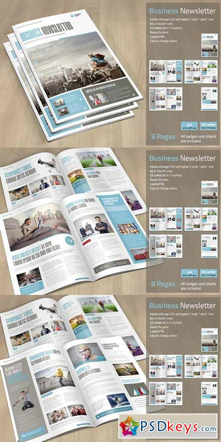 Business Newsletter 180285