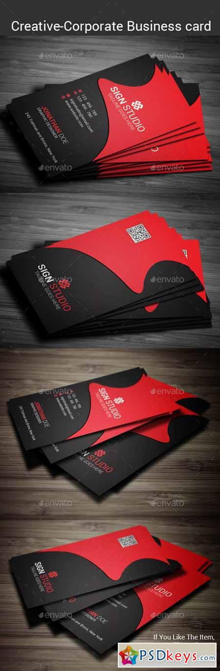 Corporate Business Card 10361474