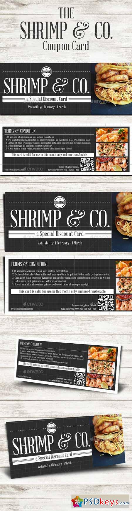 Seafood Cafe Coupon Card 10366390