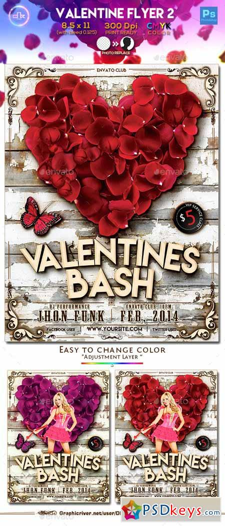 Valentines Flyer 2 - Template 10011659