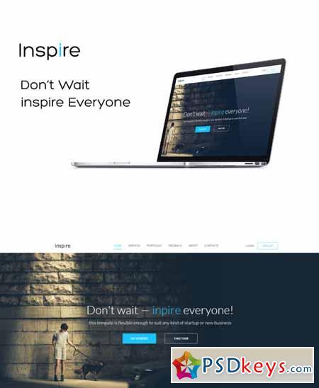inspire- Responsive Template 177154