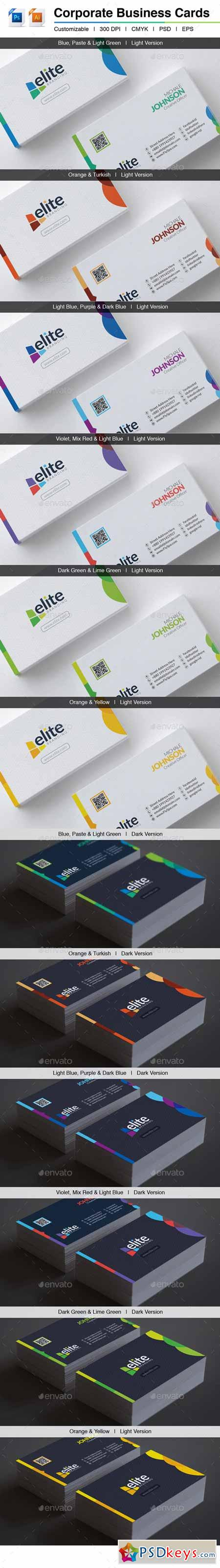 Elite Corporate Business Cards 10094825