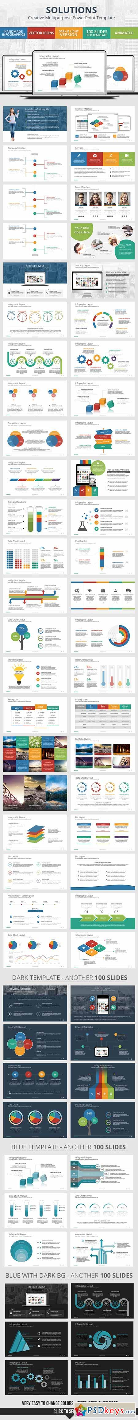 Solutions - PowerPoint Presentation Template 10284842