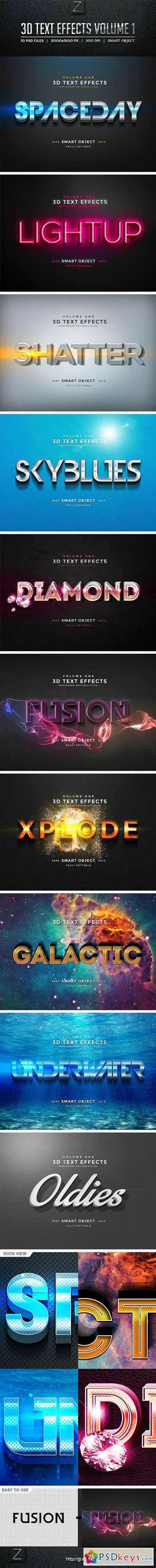3D Text Effects Vol.1 10156254