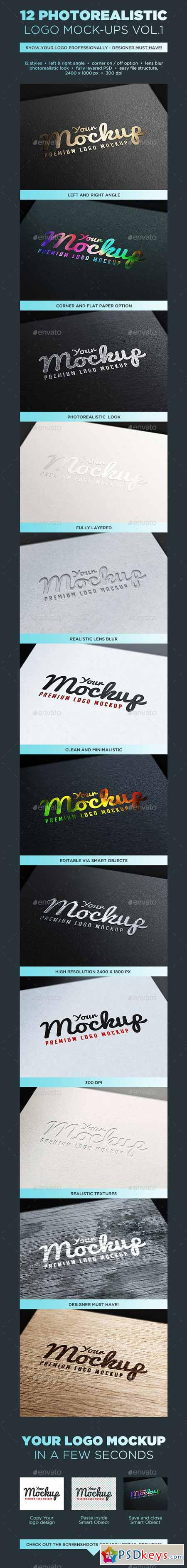 Your Mockup - Logo Mockups VOL.1 10203925