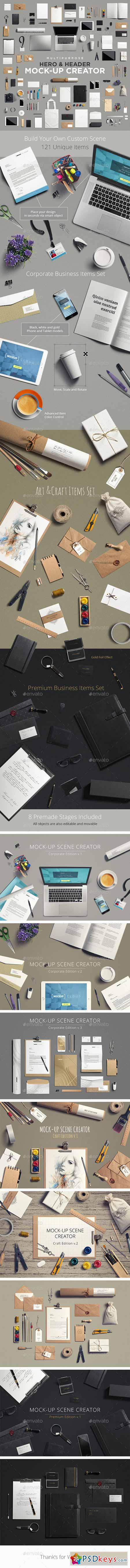 Multipurpose Mock-Up Creator 10428473