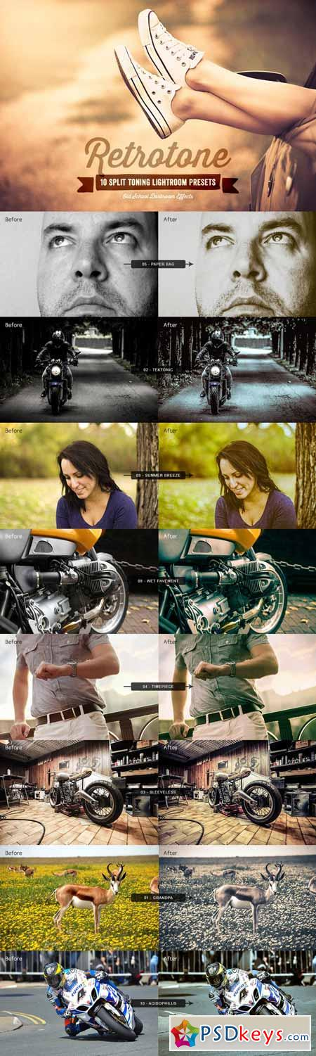 Retrotone Lightroom Presets Volume 1 98340