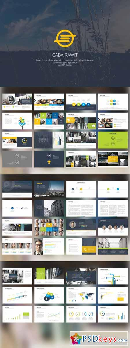 Cabairawit PowerPoint Template 191508