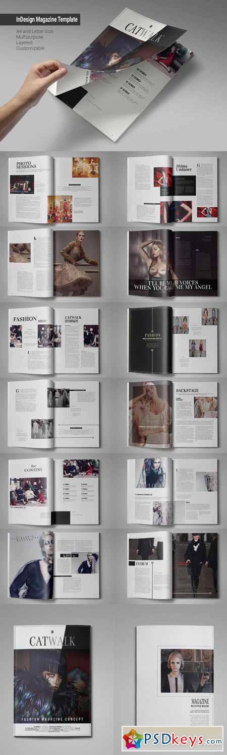 InDesign Magazine Template 187968