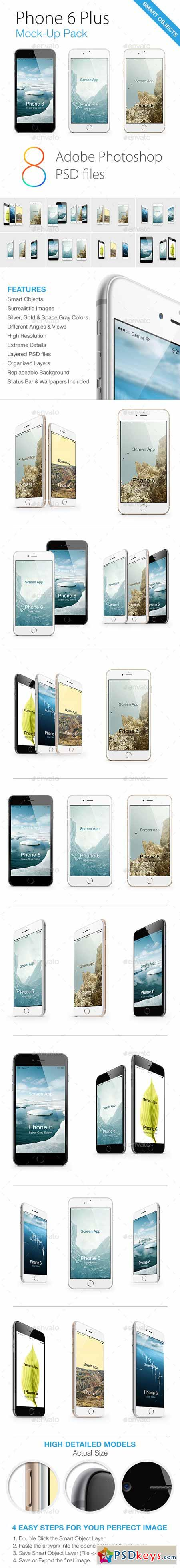 Phone 6 Mock-Ups Pack 8947116