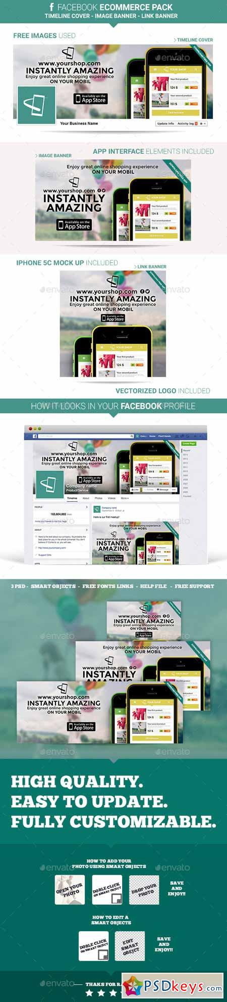Facebook Ecommerce Pack 9874593