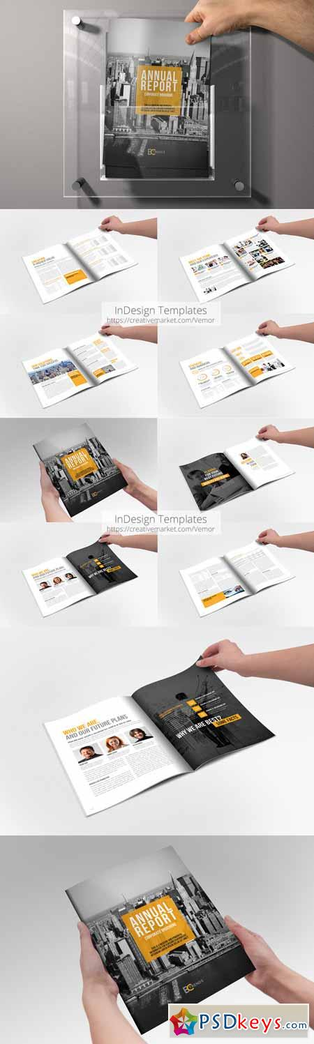Annual Repotr 2015 InDesign Template 195396 » Free Download ...