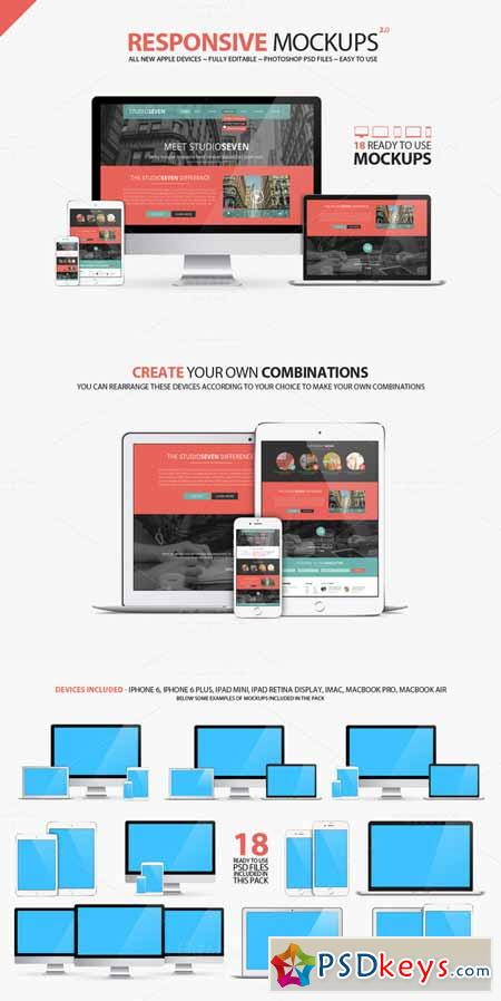 All New Responsive Mockups 189459