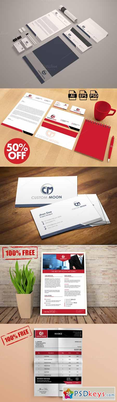 Minimalist Stationery + Free Flyer 186332