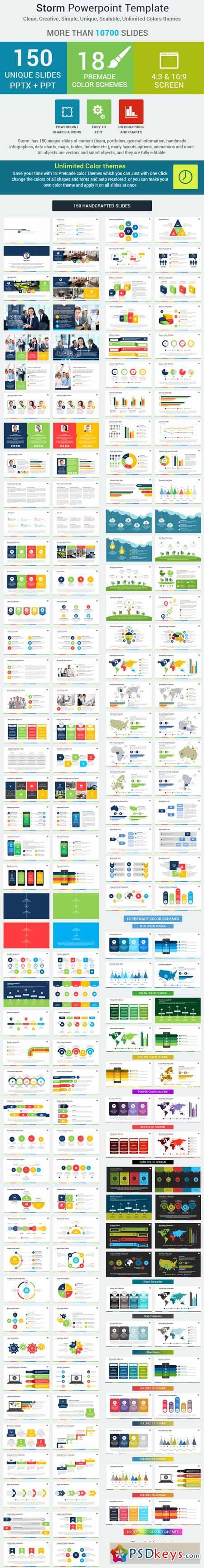 storm powerpoint presentation template 8987774  u00bb free