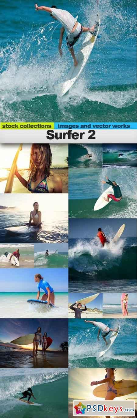 Surfer 2, 15 x UHQ JPEG