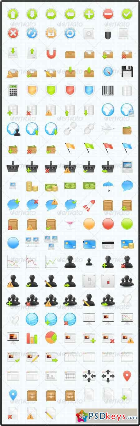 150 Business & Application Icons 85303