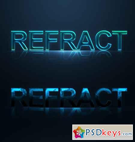 2 Text effect styles 75024
