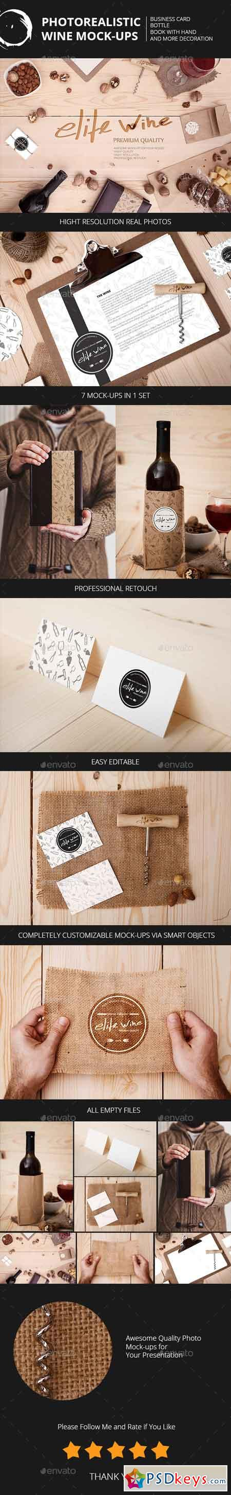 Wine Themes Mock-Ups 10467459