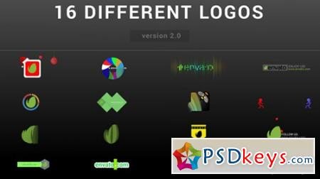 Wow Logo Pack 16 Different Logo Reveal - After Effects Projects