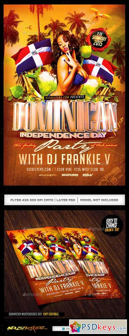 Dominican Independence Day Flyer   Free Download Photoshop