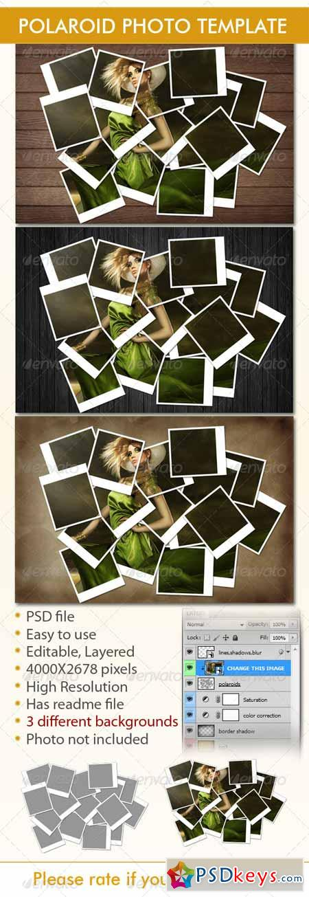 Instant Photo Frames Photo Template 4639876