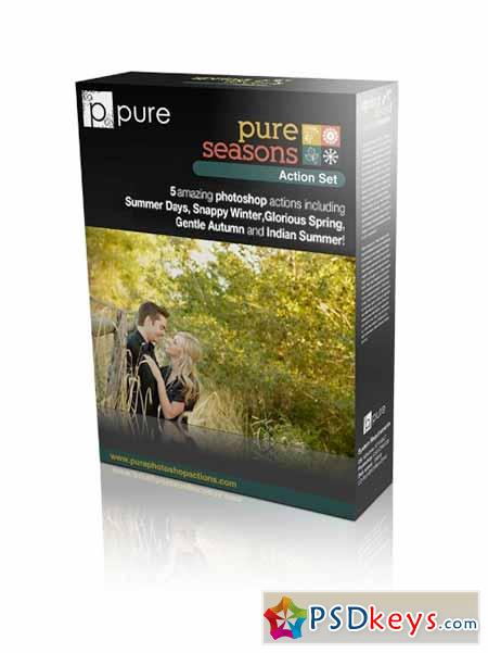 Pure Seasons Photoshop Actions