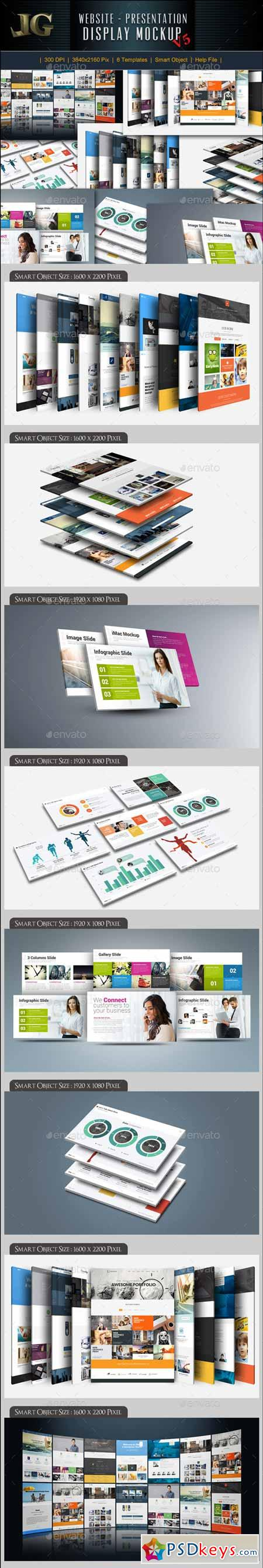 Website Presentation Mockup 10527684