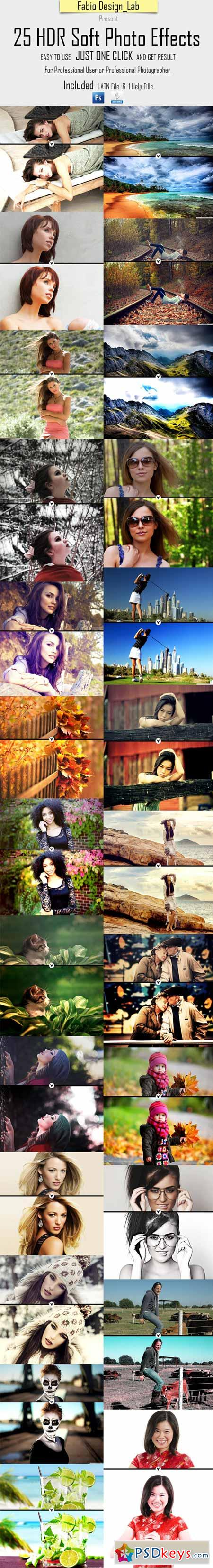 25 HDR Soft Photo Effects 10282438