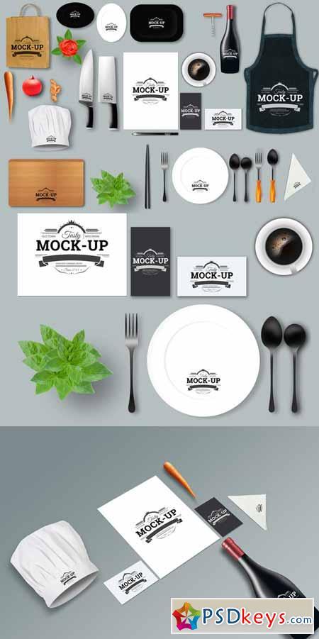 restaurant mock up