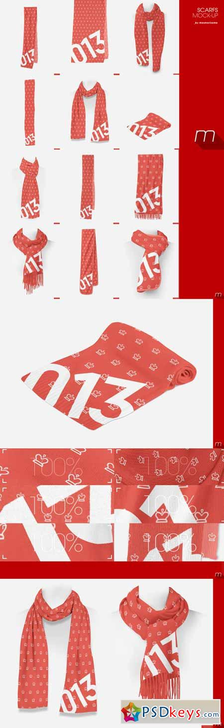 Download Scarf Mockup Free PSD at DownloadMockupcom - oukas info