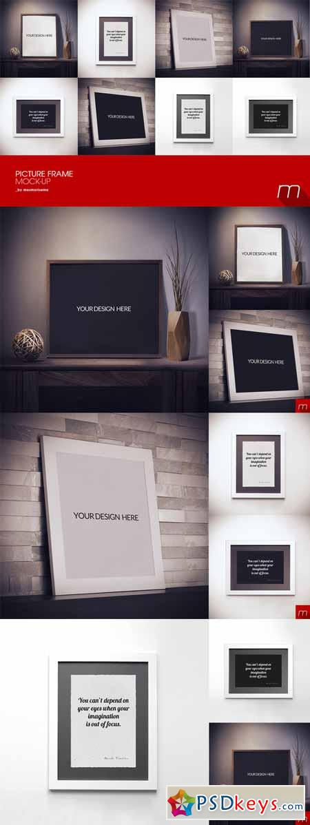 Modern Picture Frame Mock-up 207082
