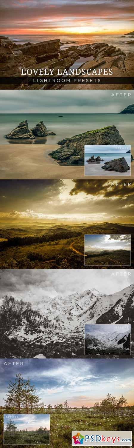 Lovely Landscapes Lightroom Presets 200086
