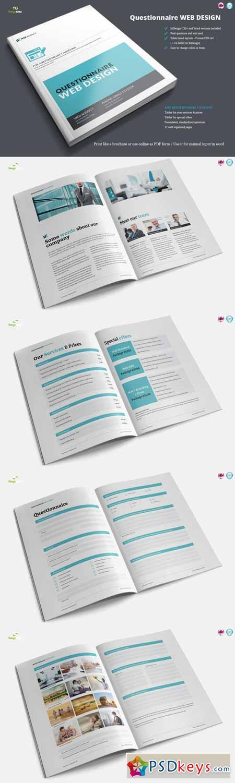 Questionnaire Web Design 208001