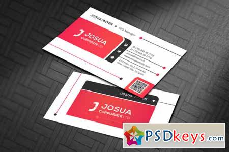 Corporate Business Card 210475
