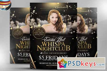 Whispa Flyer Template 168075