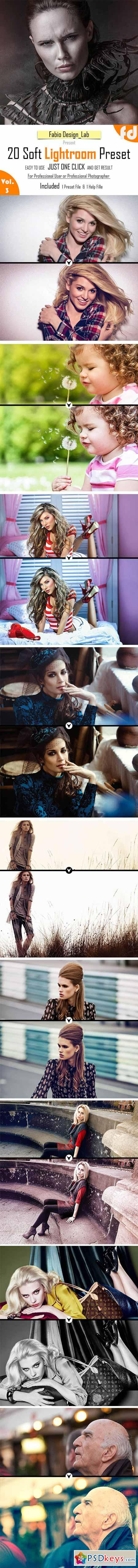 20 Soft Lightroom Preset Vol.3 10519776
