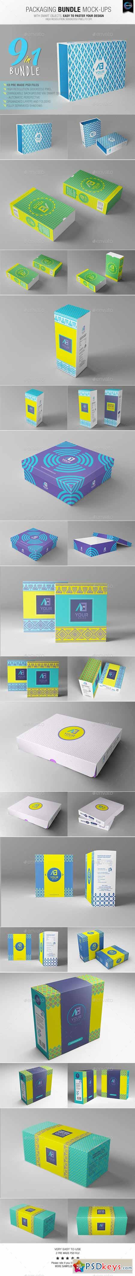 Packaging Bundle Mock-Ups 10581137