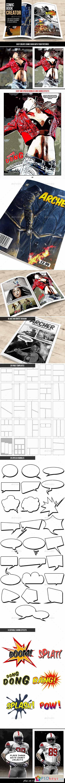 GraphicRiver Comic Book Creator 10600615