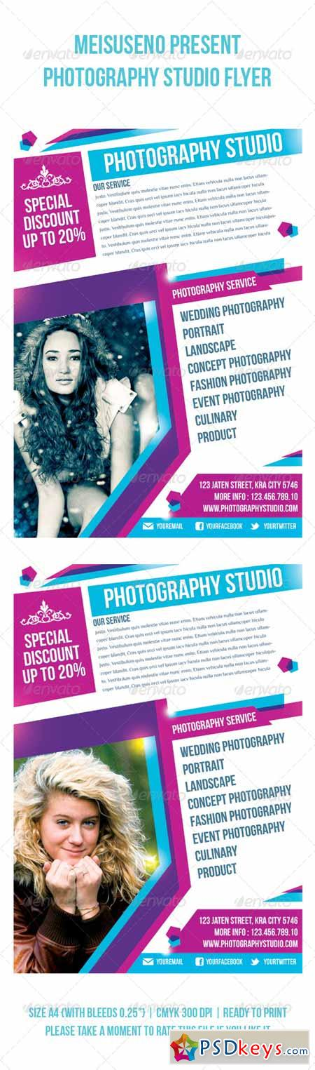 Photography Studio Flyer 4040539