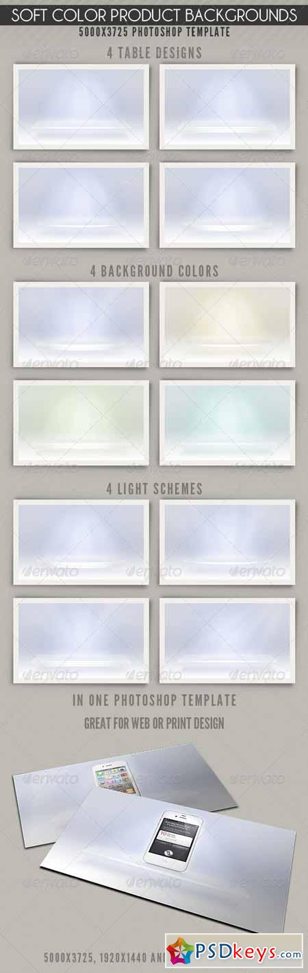 Soft Color Product Backgrounds 1951500