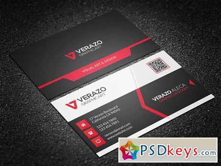 Modern Corporate Business Card 214255
