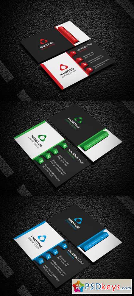 Creative Business Card 215571