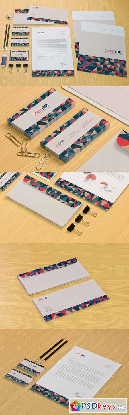 Colorful Pattern Stationery 211322