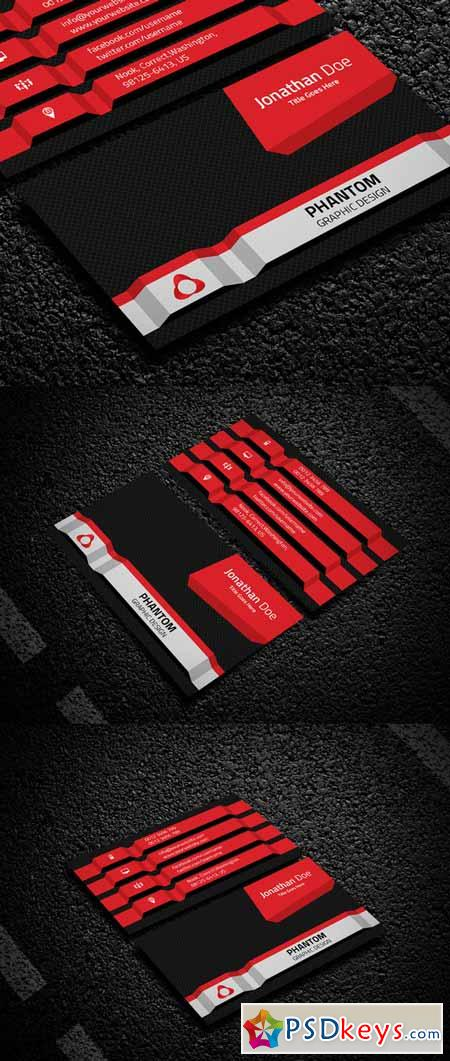 Creative Business Card Template 215588
