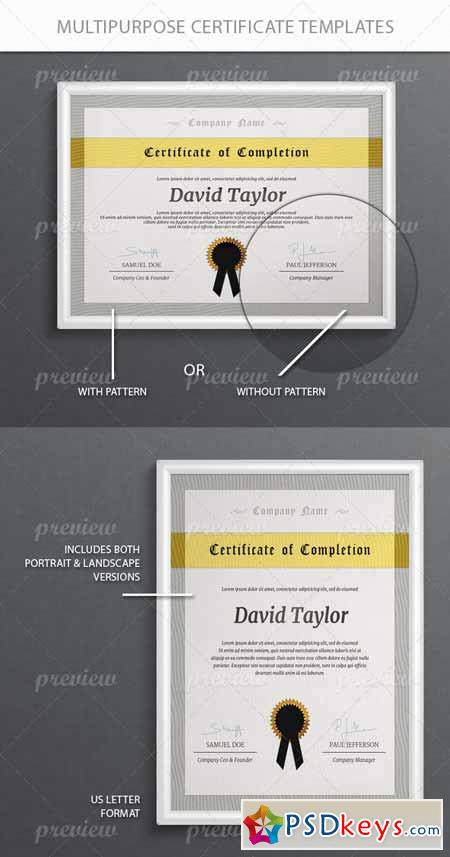 Multi purpose certificate templates 2701 free download photoshop multi purpose certificate templates 2701 yadclub Images