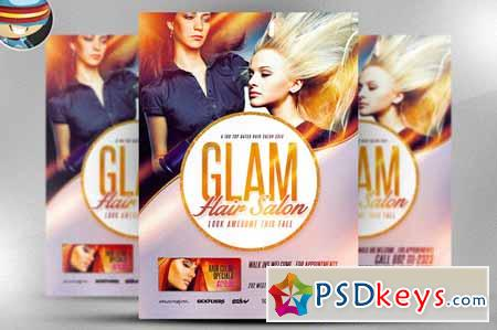 Salon Flyer Template 104071 Free Download Photoshop Vector Stock