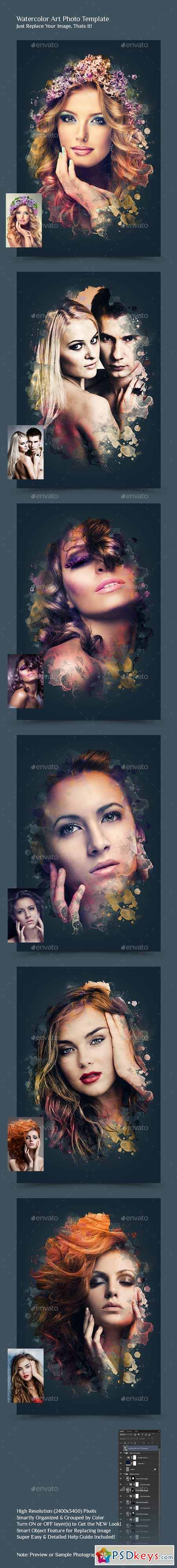 Graphicriver Typoframe Art 10432393